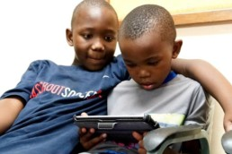 Donating tablets in South Africa